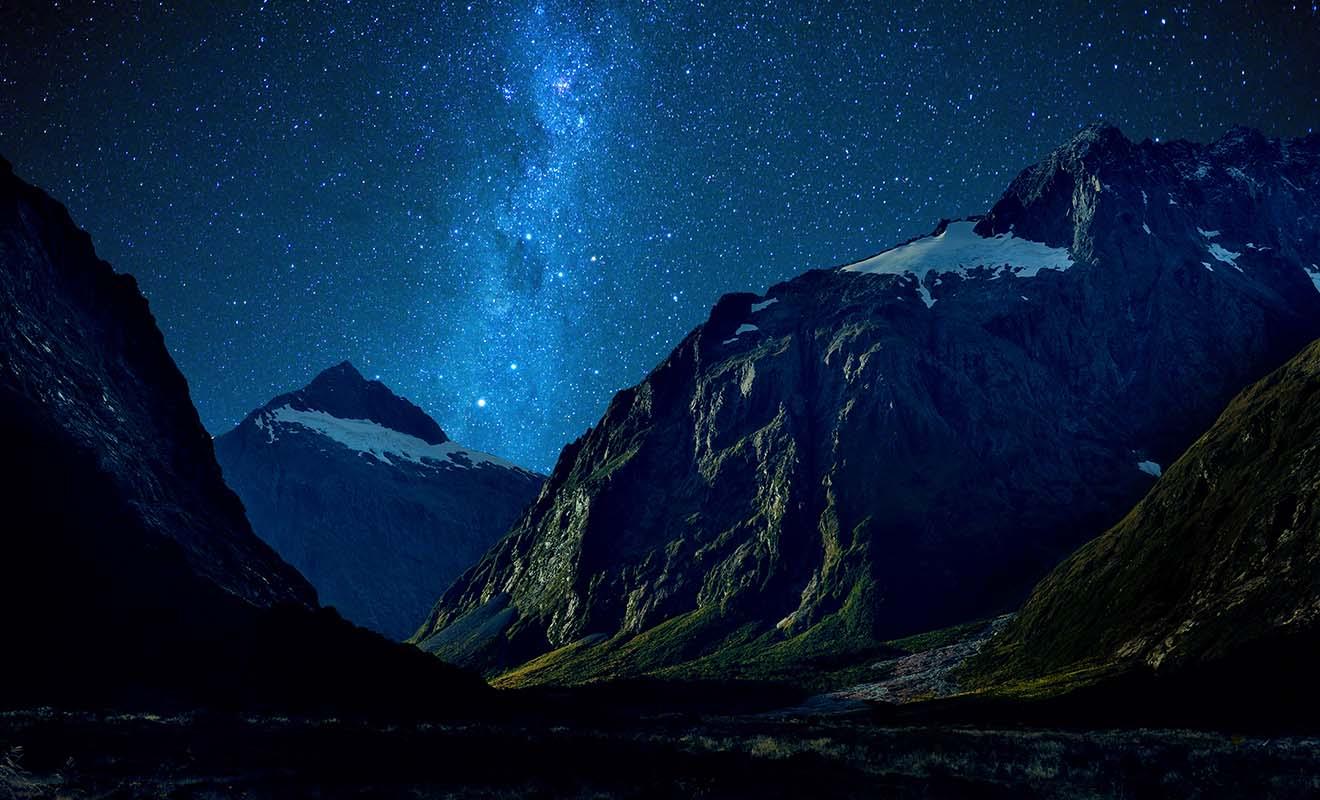 La Nouvelle-Zélande vous permet de vivre une belle aventure sans dangers, en ayant la sensation d'être seul au monde.