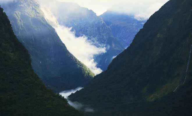 Avec une excursion qui s'étale sur près de 8h, il faut être très motivé pour visiter le Doubtful Sound. La densité de la forêt et le relief accidenté ont longtemps tenu l'Homme à l'écart du Fiordland.