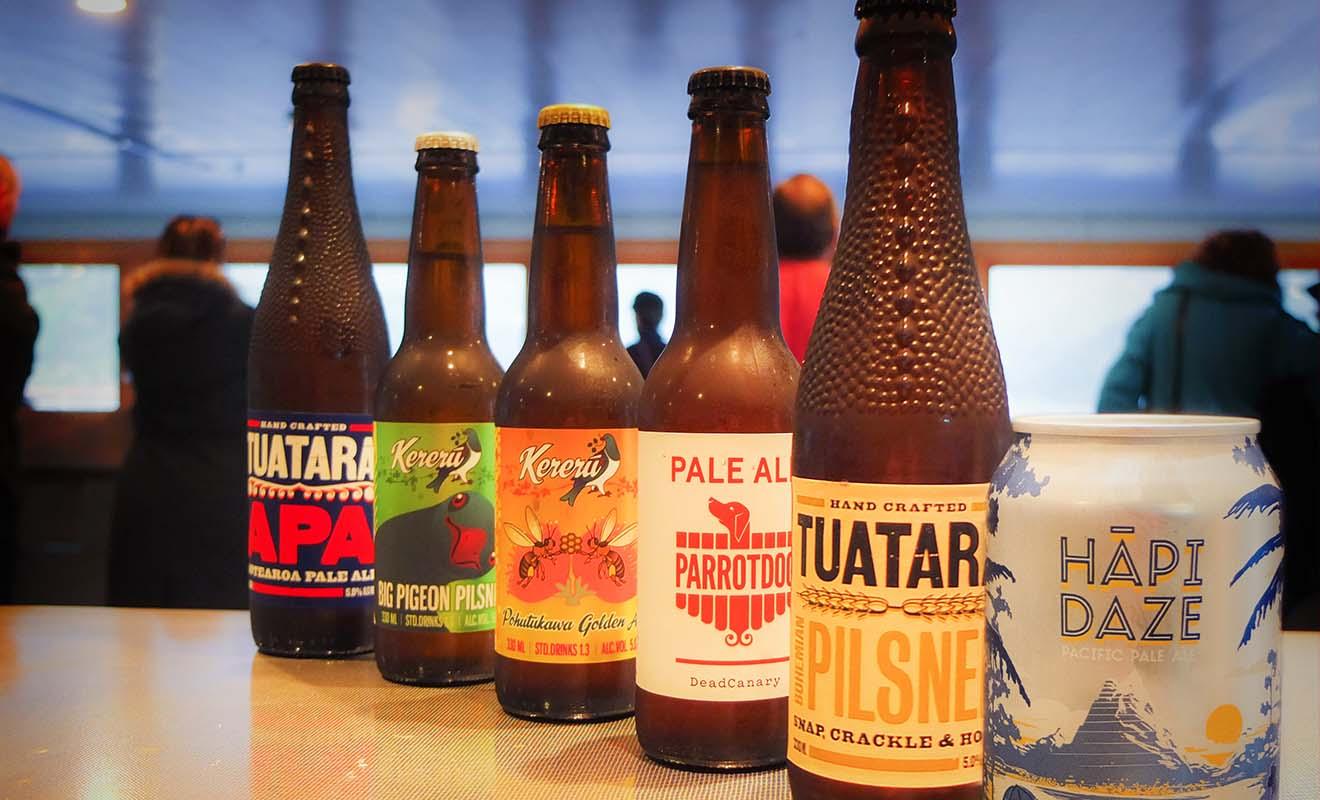 Si vous aimez la bière, laissez-vous tentez par les bières locales plutôt que de consommer la même chose que d'habitude.