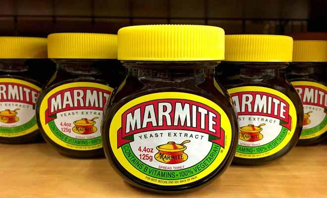 Rien de ce que vous avez goûté jusqu'à présent ne vous a préparé à affronter la Marmite ou le Vegemite.