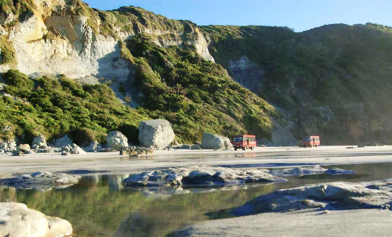 La Nouvelle-Zélande est un fragment d'un ancien super continent.