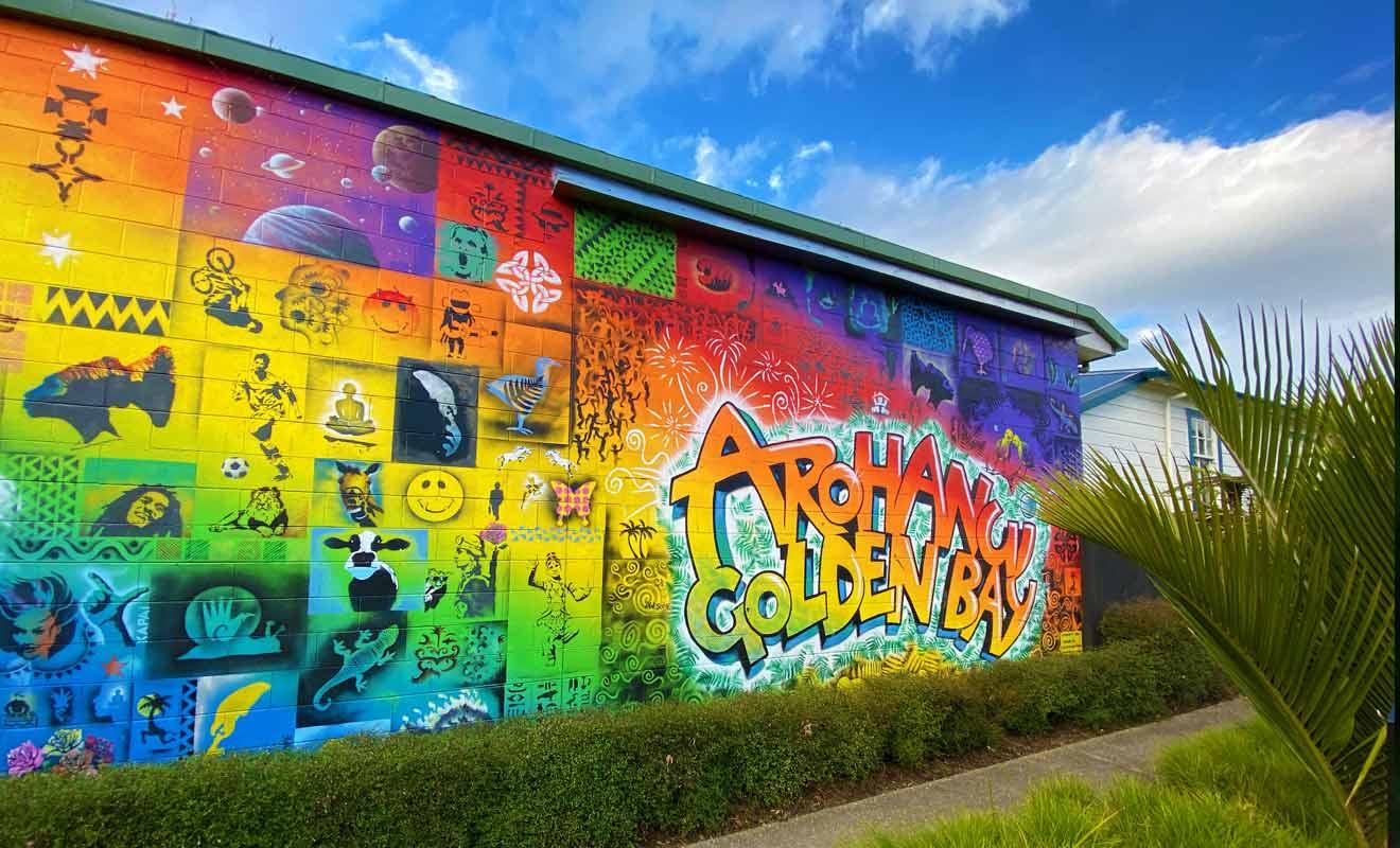 Il suffit de parcourir Commercial Street pour admirer de nombreux street-arts.