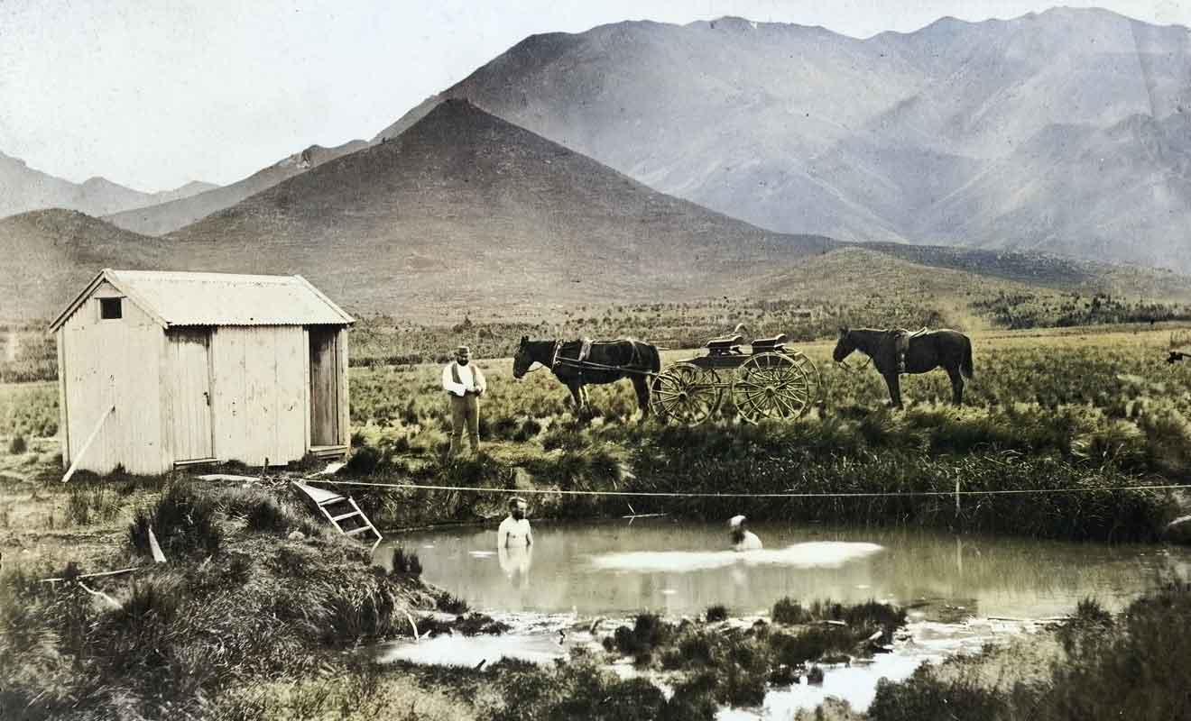 Il faudra attendre les années 1960 pour que le village deviennent une destination touristique.