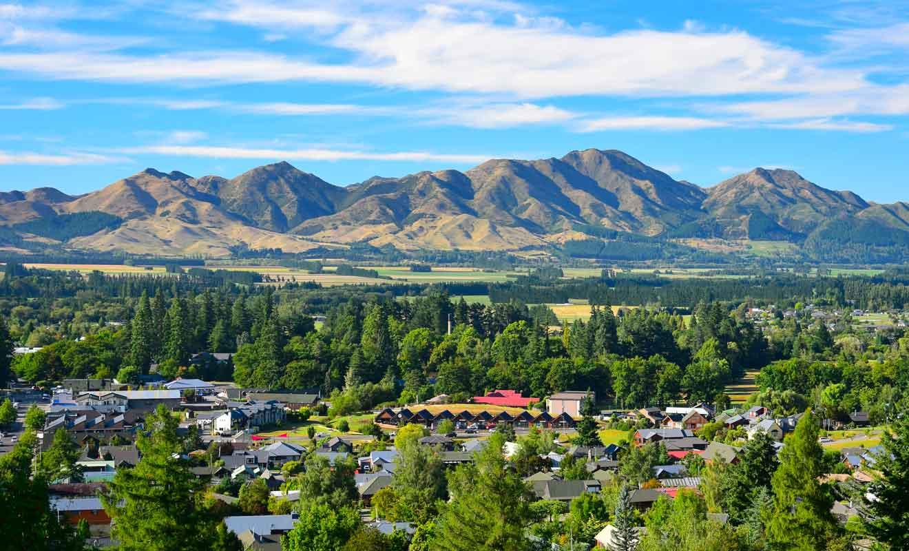 Deux heures de route suffisent pour rejoindre Hanmer Springs depuis Christchurch.