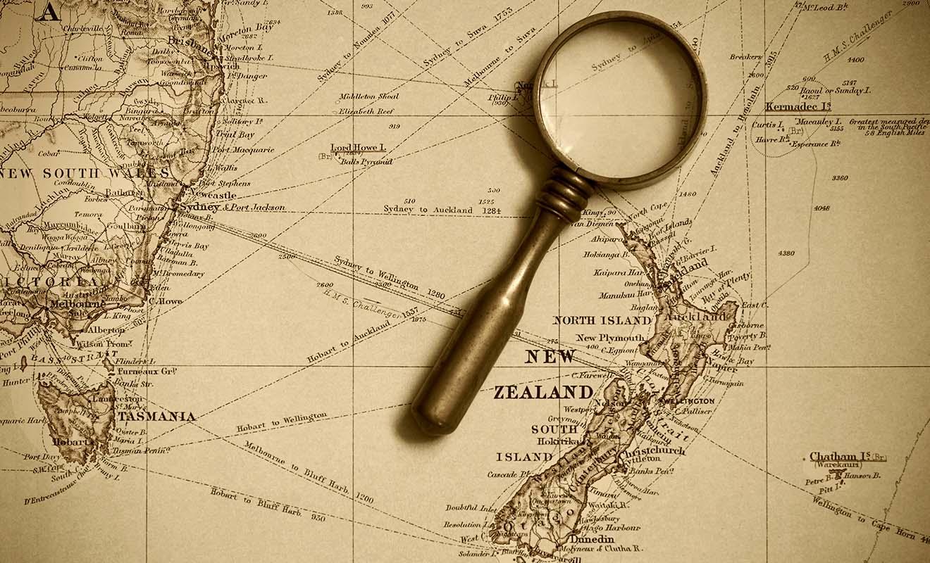 La Nouvelle-Zélande était à plus de deux mois de navigation de l'Europe, une distance considérable qui explique pourquoi la colonisation a été aussi tardive.