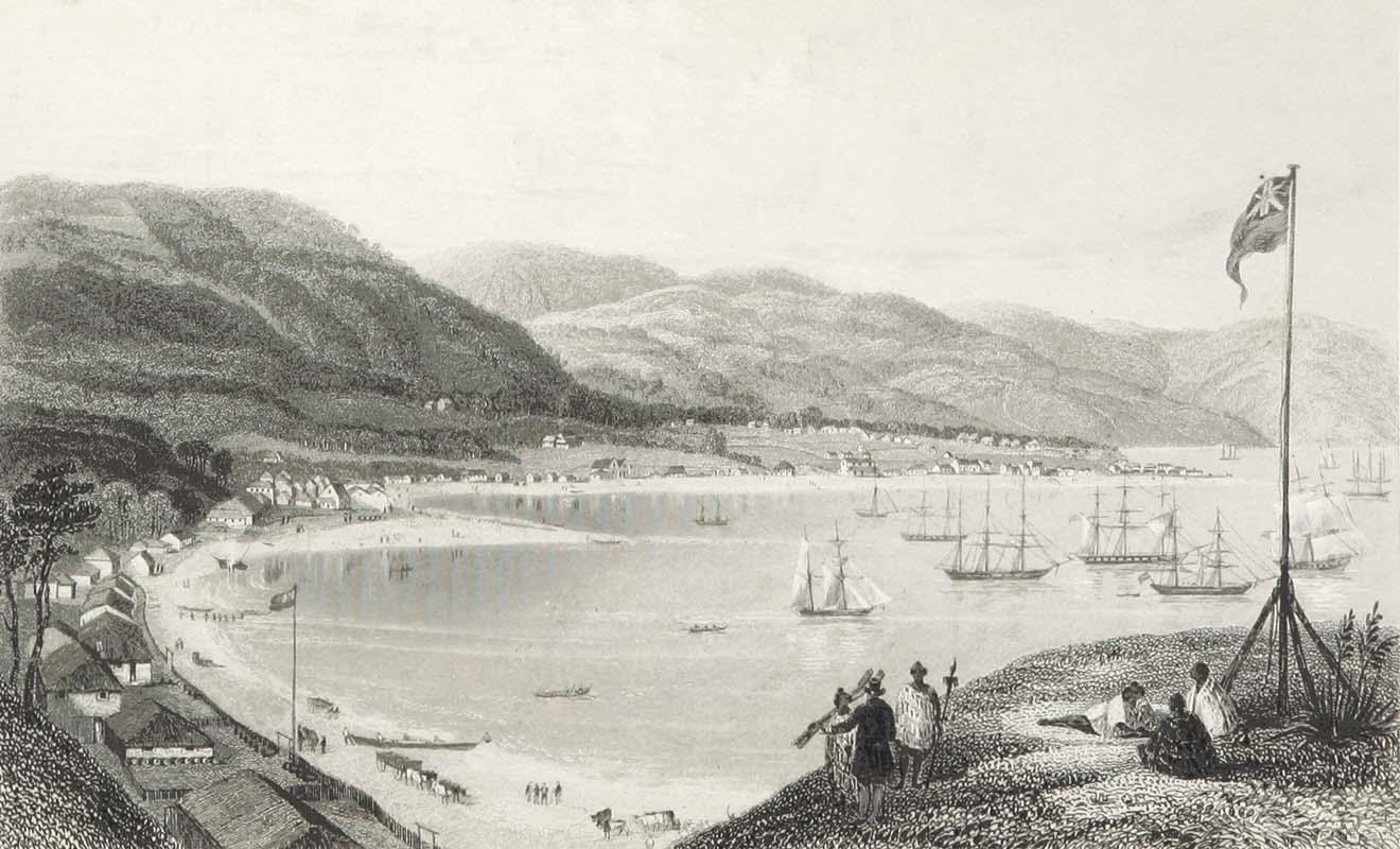 La colonisation s'accentue entre 1839 et 1852 quand la New Zealand Company recrute des colons.