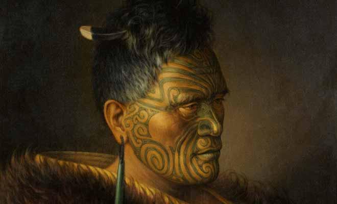La Guerre des mousquets et les Guerres maories vont considérablement réduire la population maorie.