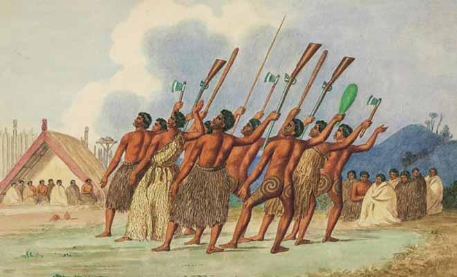 La Guerre des mousquets fera 20.000 morts dans population Maorie !
