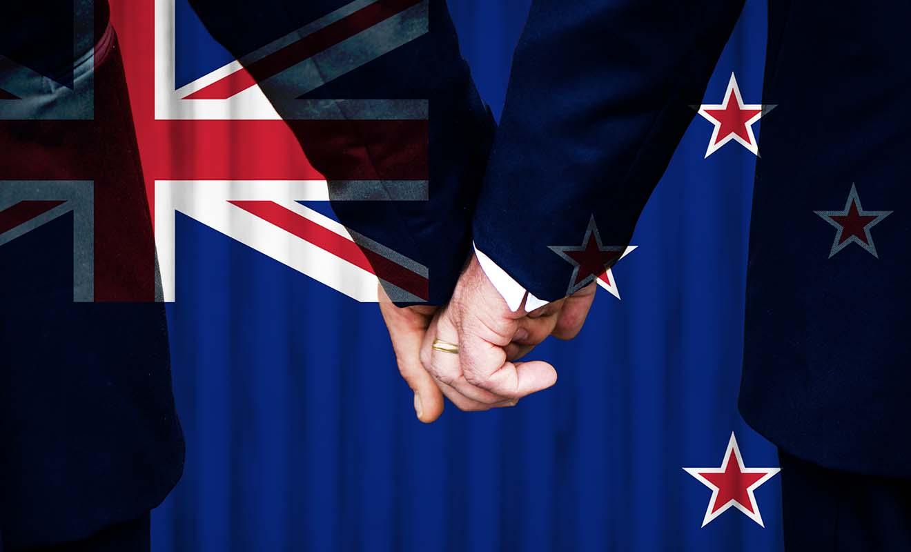 L'adoption du mariage gay Nouvelle-Zélande date de 2013 après une campagne difficile.