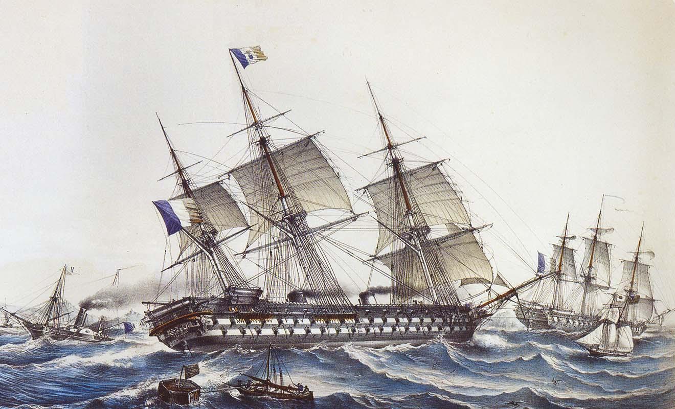 La France est devancée par la couronne anglaise, mais elle commence à s'intéresser aux nouveaux territoires d'Océanie.