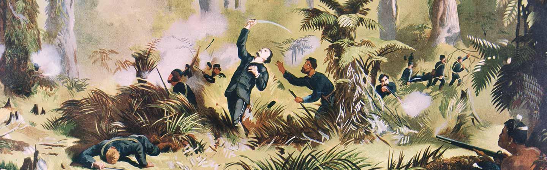 Découvrez comment s'est terminée la guerre entre les maoris colons britanniques.