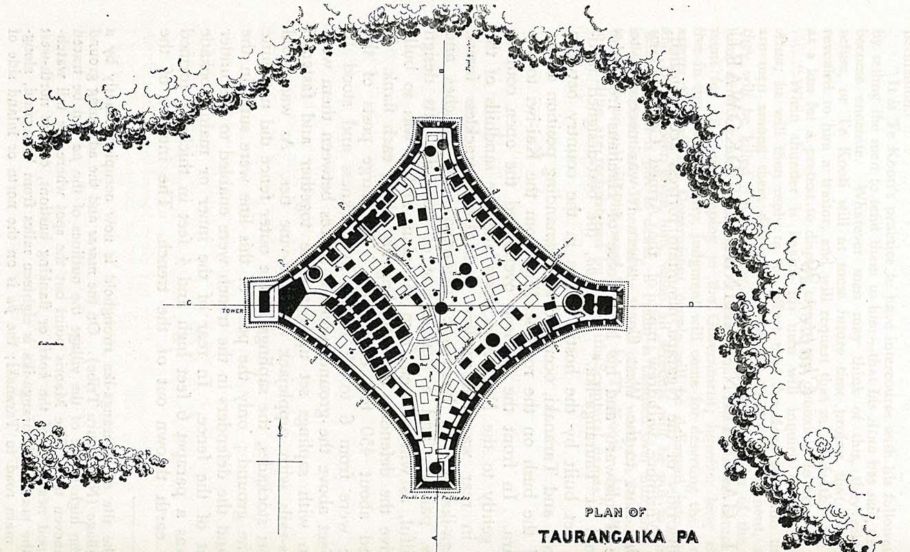 Les camps retranchés maoris ne peuvent pas soutenir de longs sièges, surtout quand les Anglais ont recours au canon.