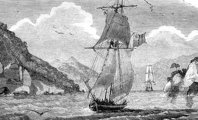 La tentative de colonisation de l'Île du Sud de la Nouvelle-Zélande sera un échec cuisant.