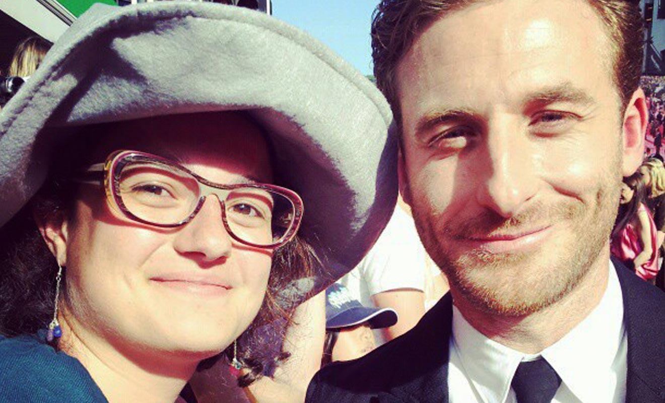 Isabel a rencontré l'acteur Dean O'Gorman qui joue dans l'adaptation du Hobbit au cinéma par Peter Jackson.