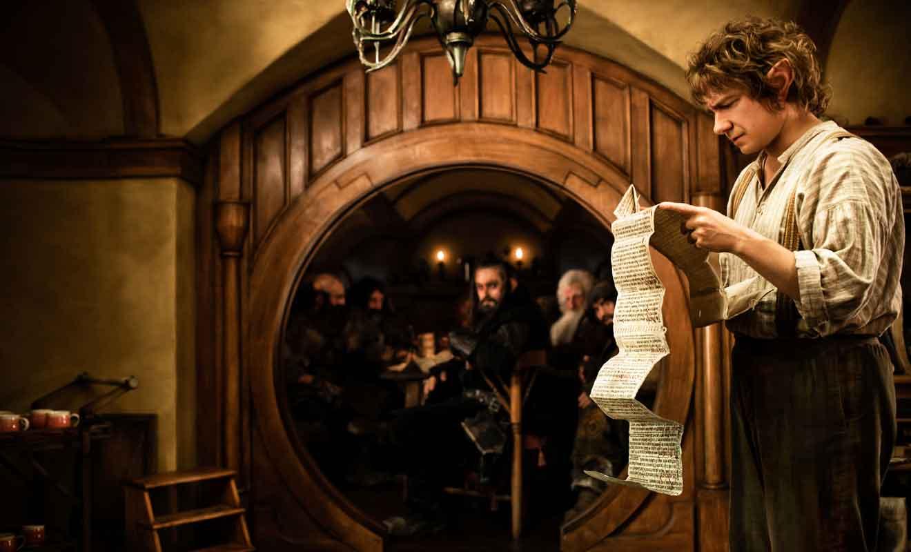 Le Seigneur des anneaux et le Hobbit débutent et s'achèvent dans le village.