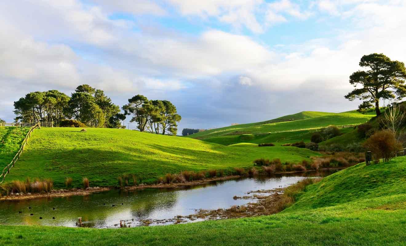 Peter Jackson a eu l'idée d'adapter le Seigneur des anneaux de Tokien au cinéma en traversant les plaines du Waikato en train.