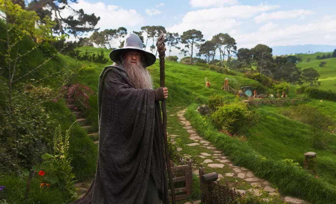 Le personnage de Gandalf apparaît dans les six films de Peter Jackson.