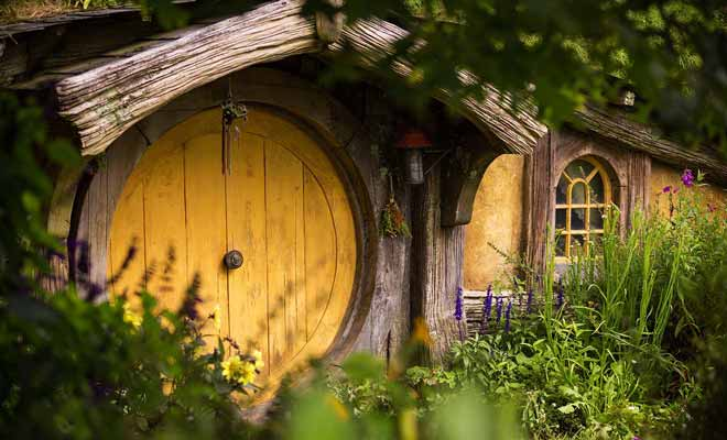 Le degré de finition est incroyable et l'on a vraiment l'impression que les hobbits vivent dans le village.
