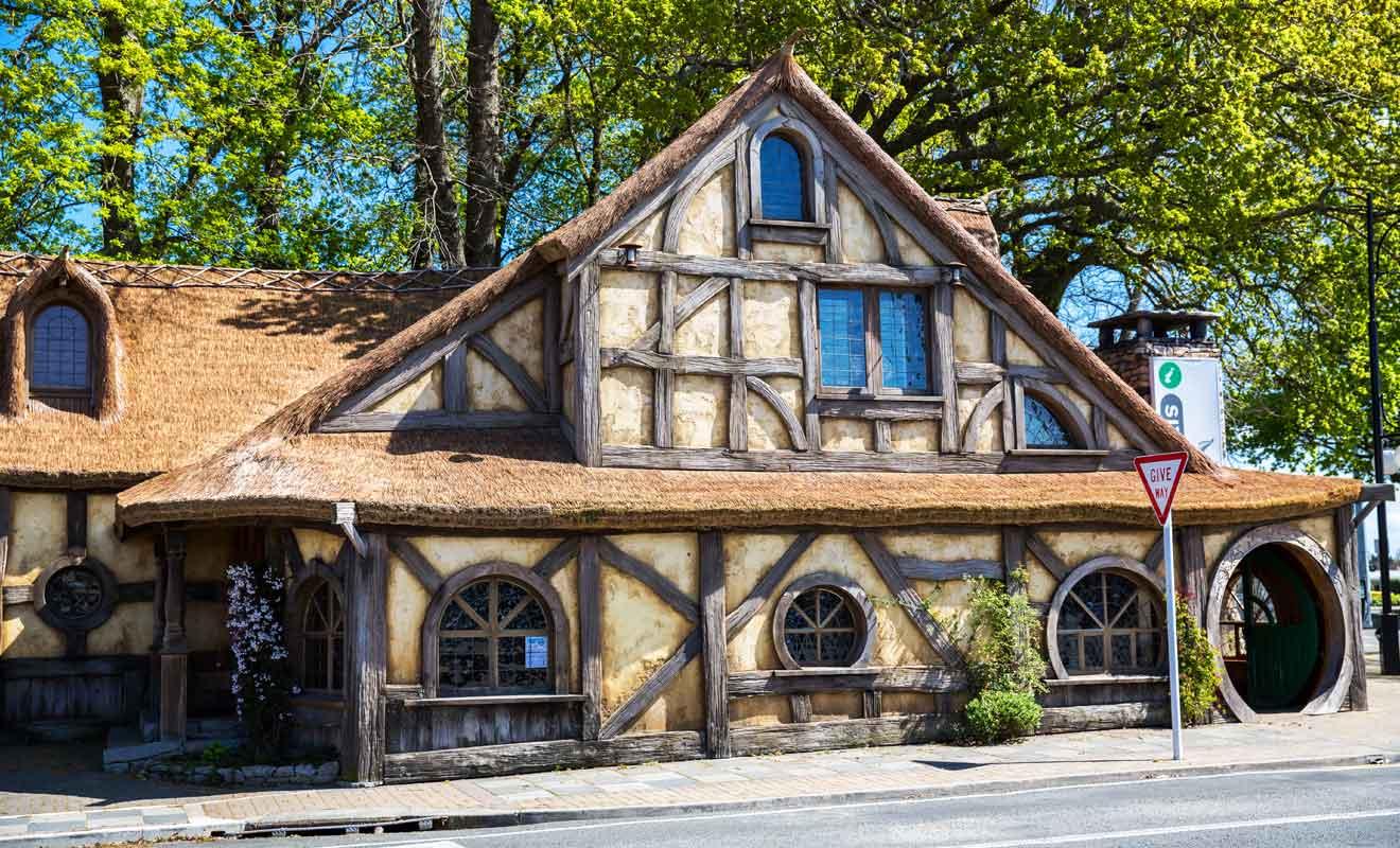 Shire's Rest est une étape obligatoire pour visiter Hobbiton.