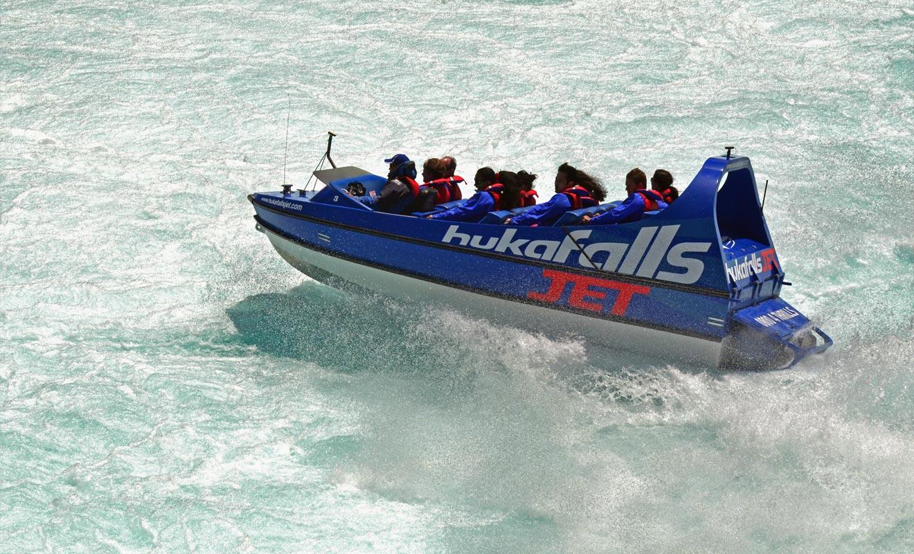 L'excursion Huka Falls Jet dure environ une demi-heure. Cela peut sembler bref, mais c'est une expérience intense.