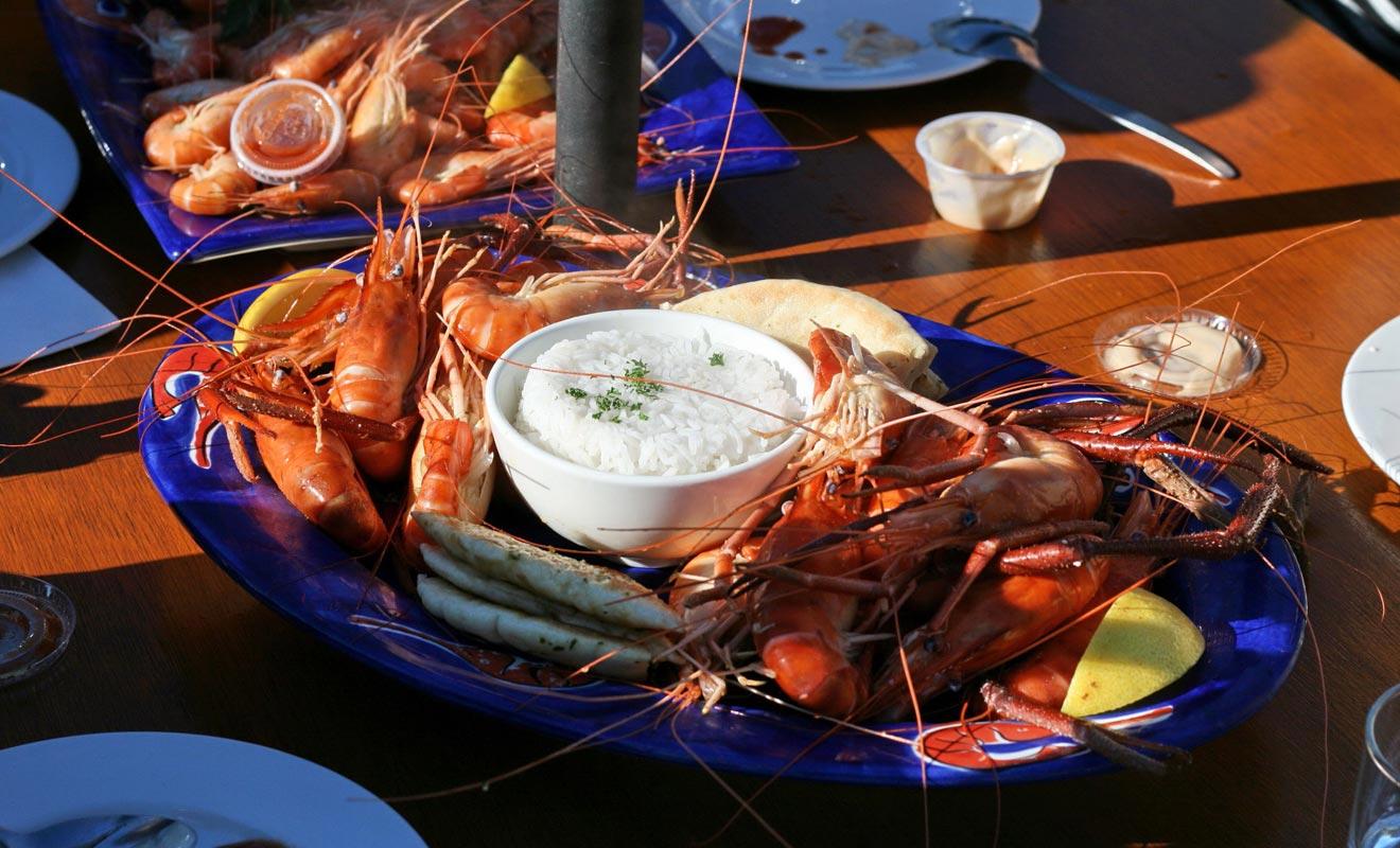 Le Huka Falls Prawn Park utilise la géothermie de la région pour produire des crevettes géantes que vous pourrez pêcher et déguster sur place.