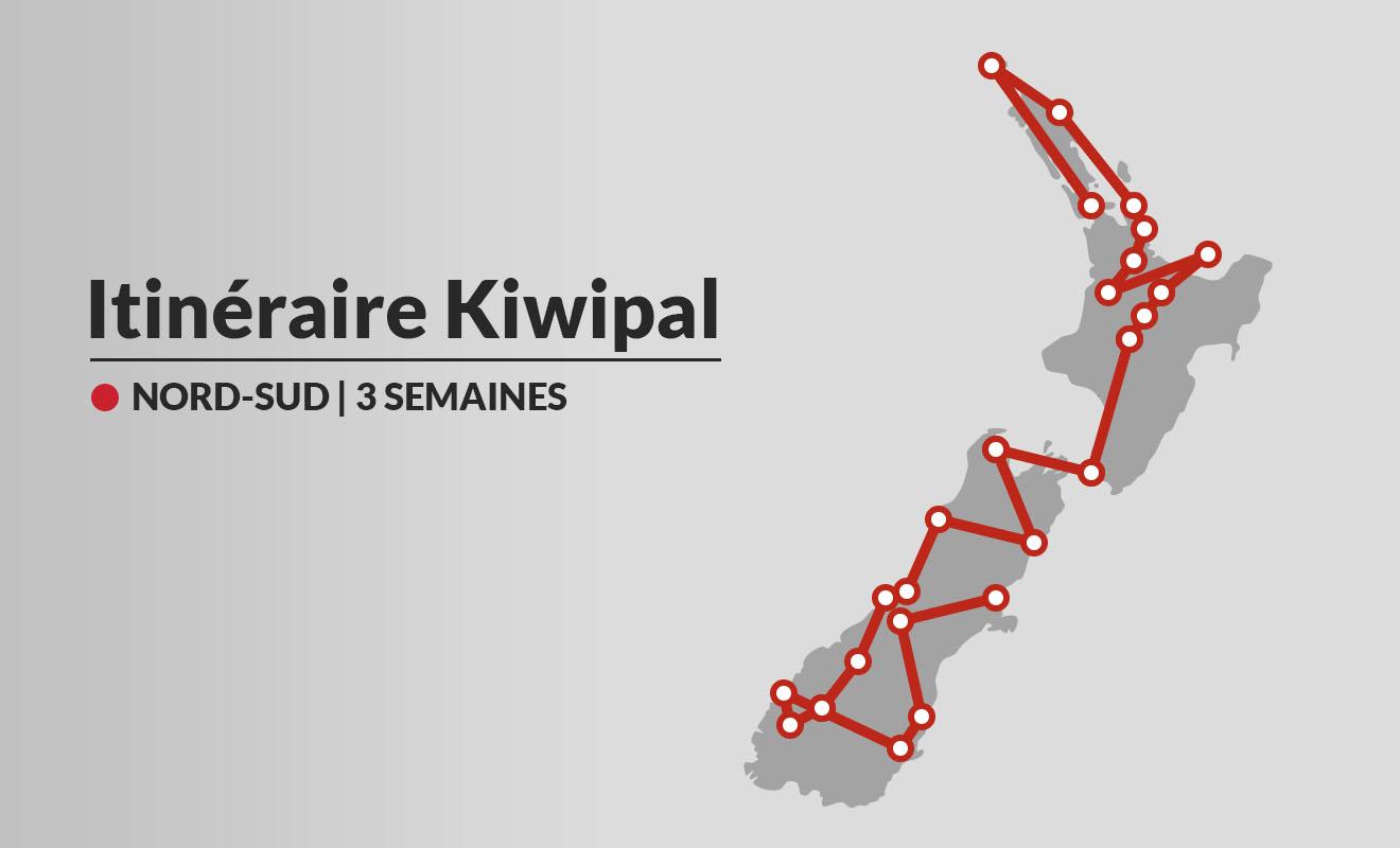 Sur trois semaines, vous pouvez visiter la plupart des lieux incontournables de Nouvelle-Zélande.