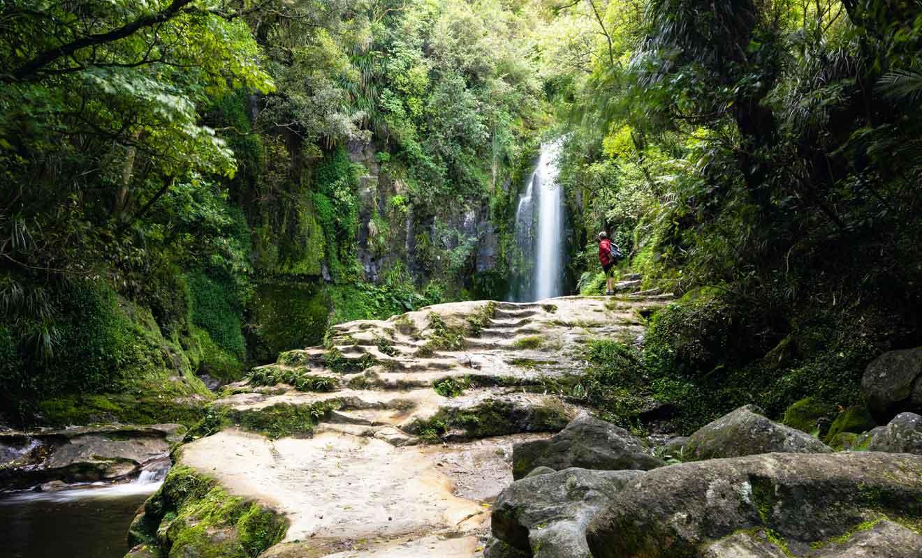 S'il a plus la veille, le chemin qui mène aux chutes sera difficilement praticable.