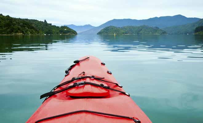 Les sorties en kayak du Marlborough sont généralement organisées au départ de Picton. Un bateau taxi vous dépose à un point de départ et vous pagayerez tranquillement pour revenir à Picton.