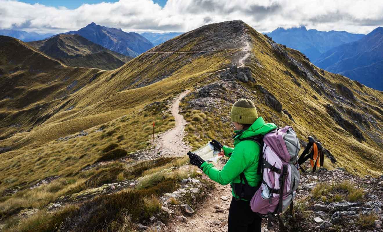 Une randonnée de plusieurs jours implique de savoir gérer ses efforts.