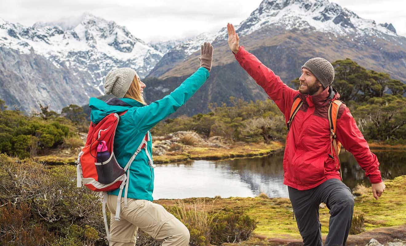 Pays de la randonnée et des balades en vélo, la Nouvelle-Zélande fait le bonheur des voyageurs, avec un taux de satisfaction qui avoisine les 97%.