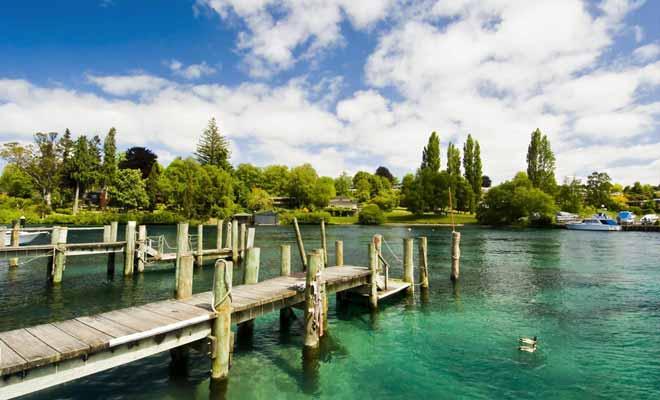 L'éruption d'Oruanui a dévasté une superficie de 1000 km2 il y a 26.500 ans, donnant naissance à la caldera du lac Taupo.