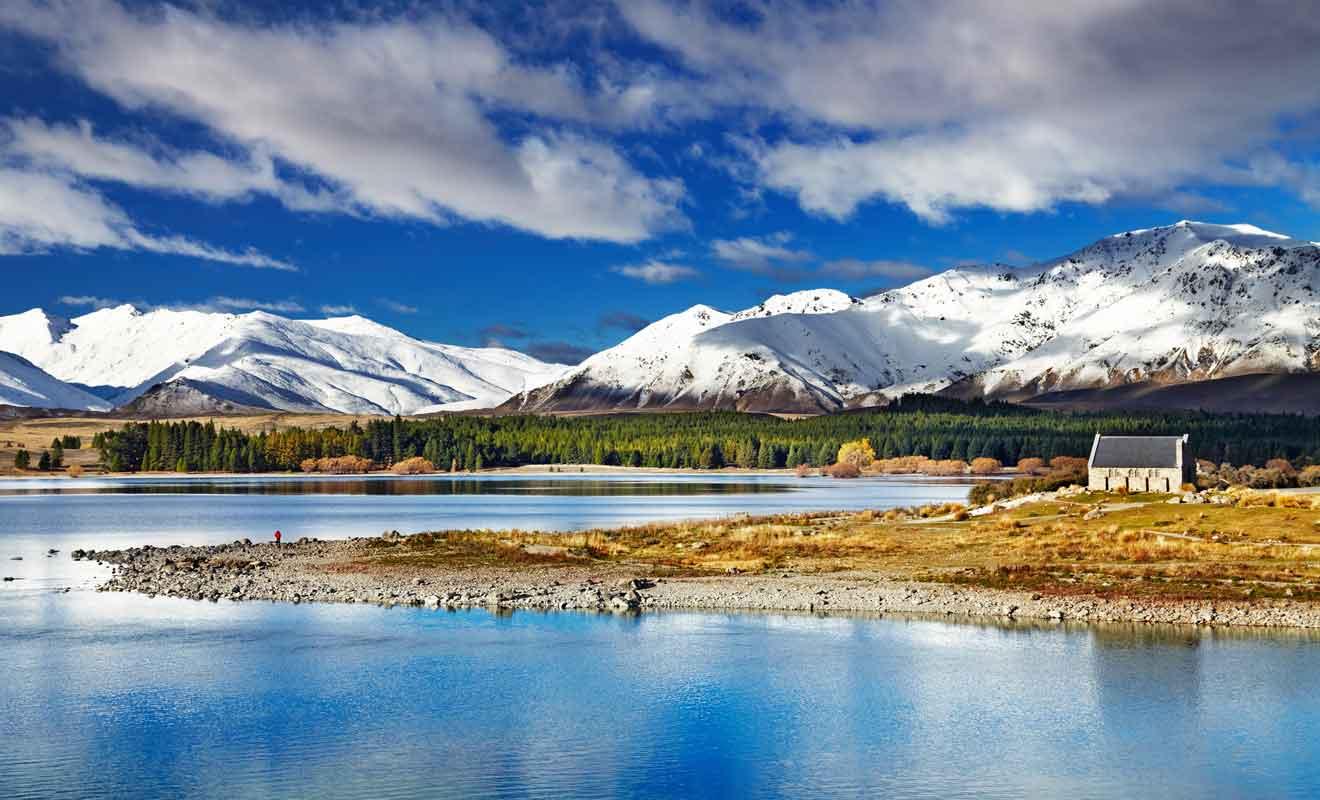 Il est même possible de skier dans la région en hiver.