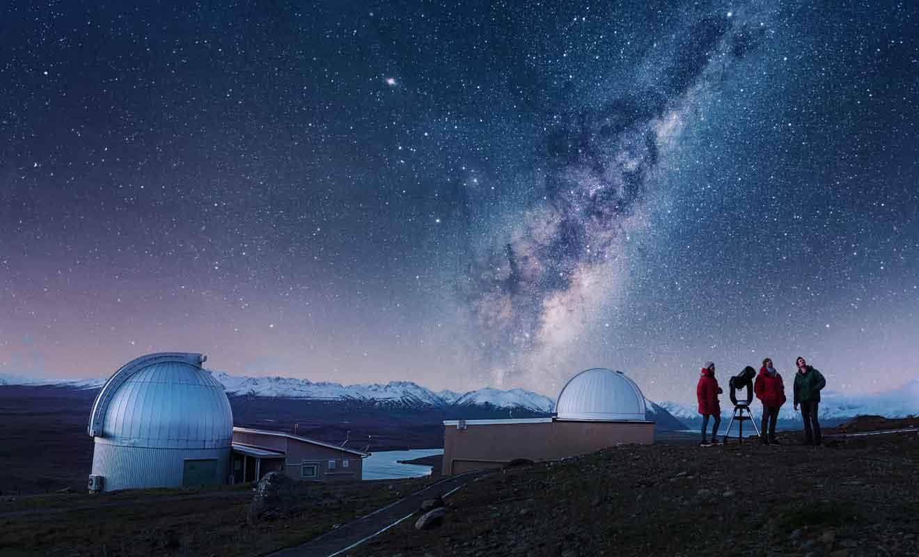 La faible pollution lumineuse permet d'admirer les étoiles dans des conditions parfaites.
