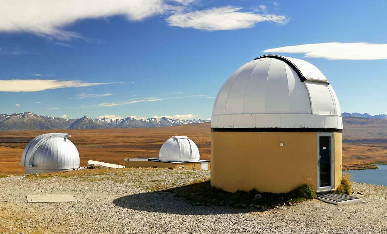 L'observatoire de mont John attire des passionnés d'astronomie du monde entier.