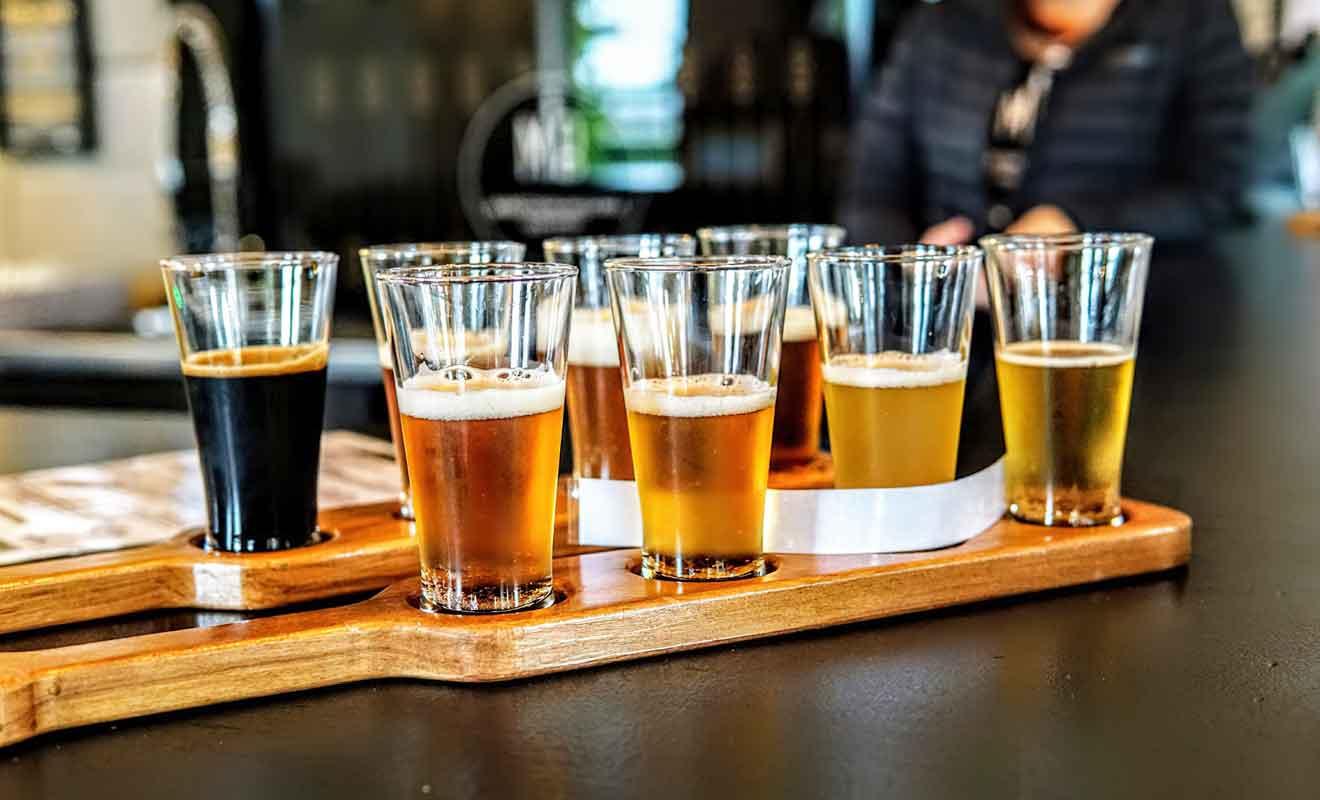 La bière blonde Vintage Gold reste une valeur sûre, mais autant tout essayer !