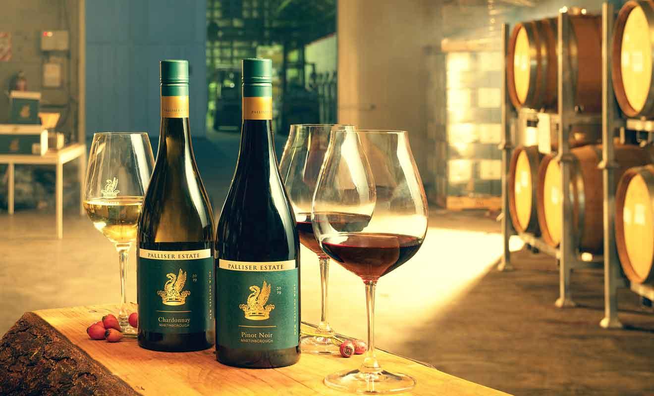 Palliser Estate produit des vins biologiques en respectant l'environnement.