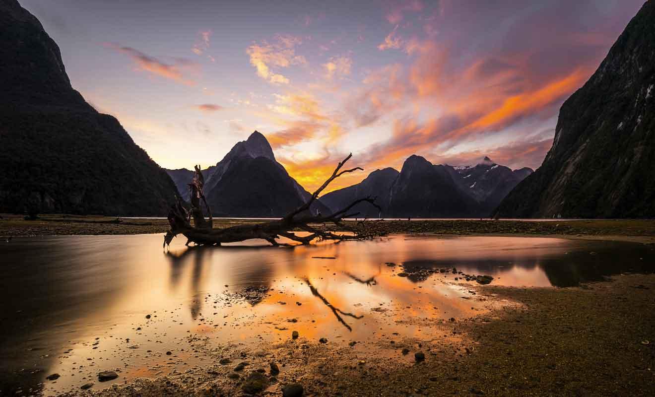 En dépit de sa trop grande fréquentation, l'étape demeure incontournable en Nouvelle-Zélande.