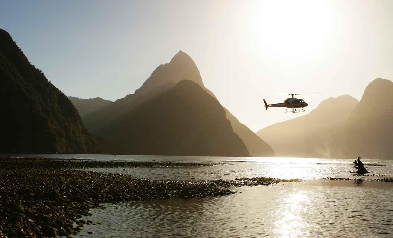 Seule une clientèle fortunée pourra s'offrir une sortie en hélicoptère, à moins de profiter d'une réduction de dernière minute.