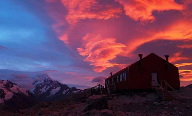 Gardez à l'esprit que le climat évolue très vite dans les montagnes. Consultez le bulletin météo du centre d'information le plus proche plutôt que la météo de votre iPhone !