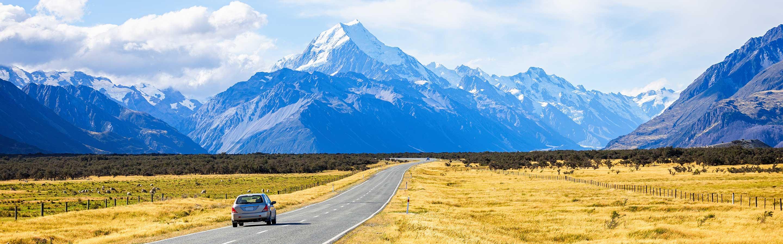 Le Mont Aoraki/Cook fait partit des Alpes du Sud, dans la région du Canterbury (île du Sud).