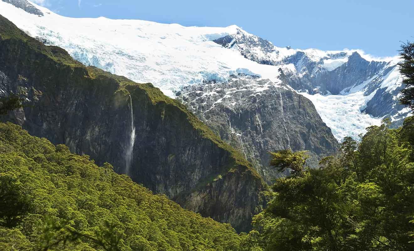 La randonnée au Rob Roy Glacier est l'une des plus connues au départ de Wanaka.