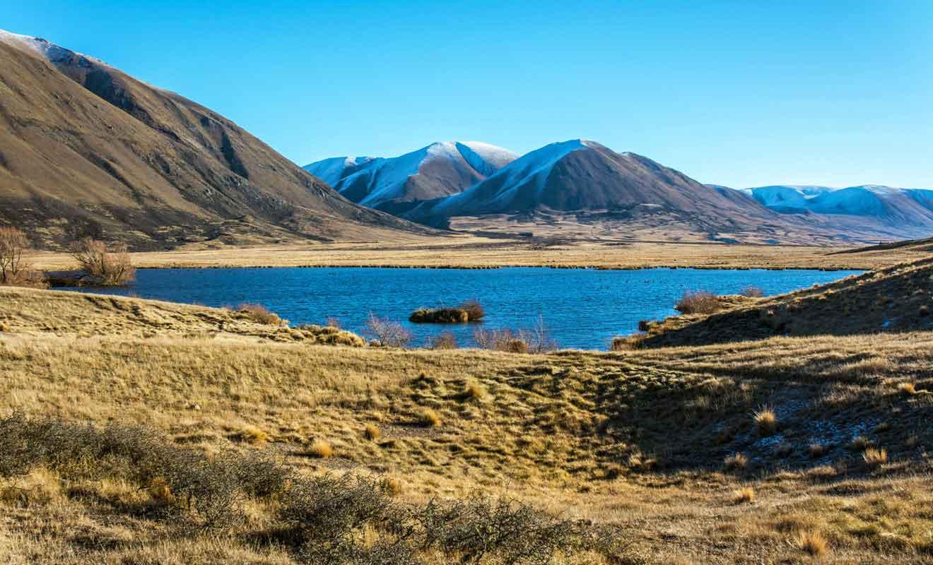 La région ne se résume pas au Mont Sunday et vous avez aussi de nombreux lacs à découvrir.