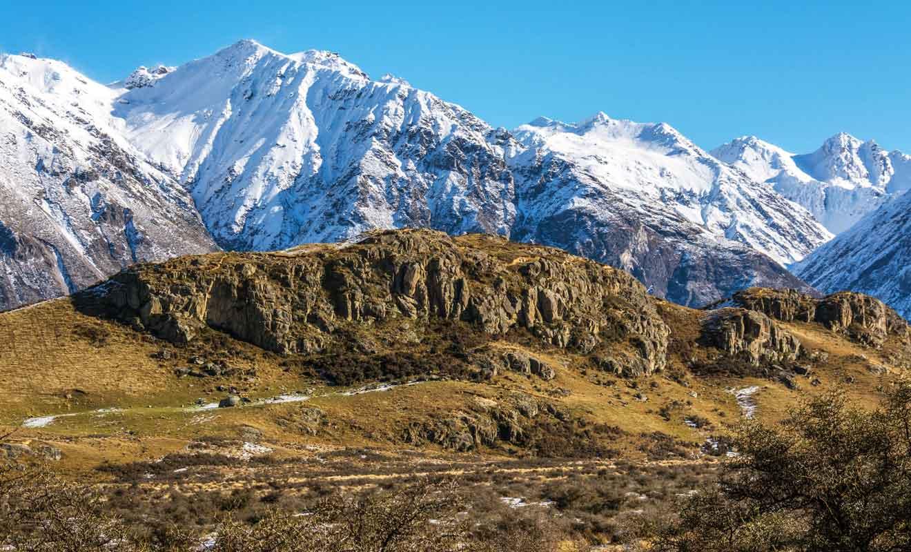 De tous les pays du monde, la NZ ressemble le plus au monde imaginaire de Tokien.