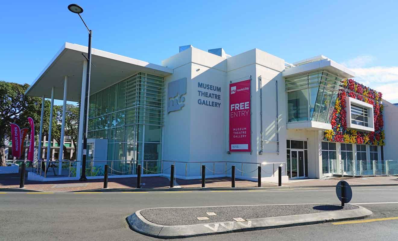 Pour revivre le passé de Napier, vous pouvez visiter le musée près de Marine Parade.