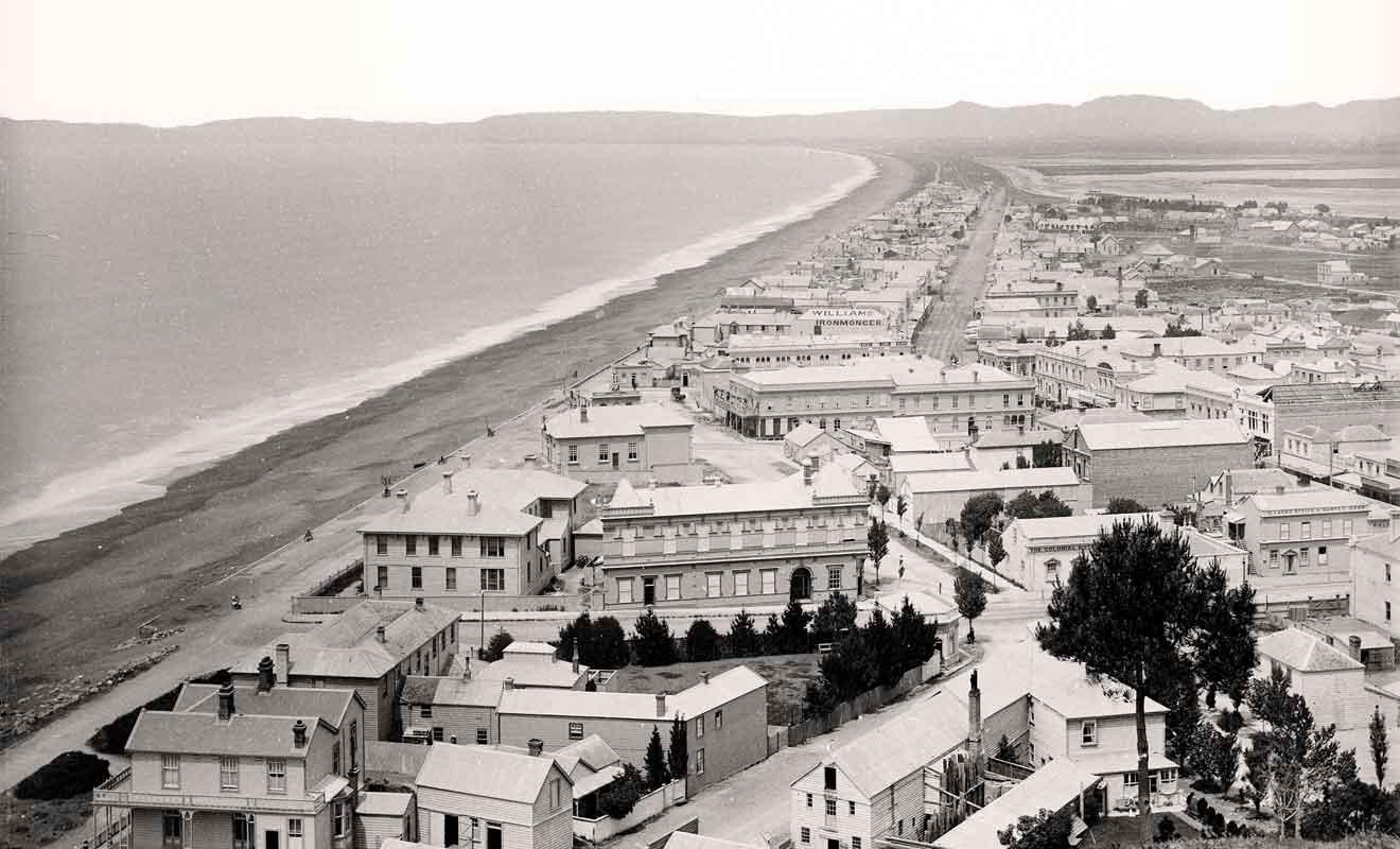 Napier n'était pas construite dans le style Art déco avant le tremblement de terre.