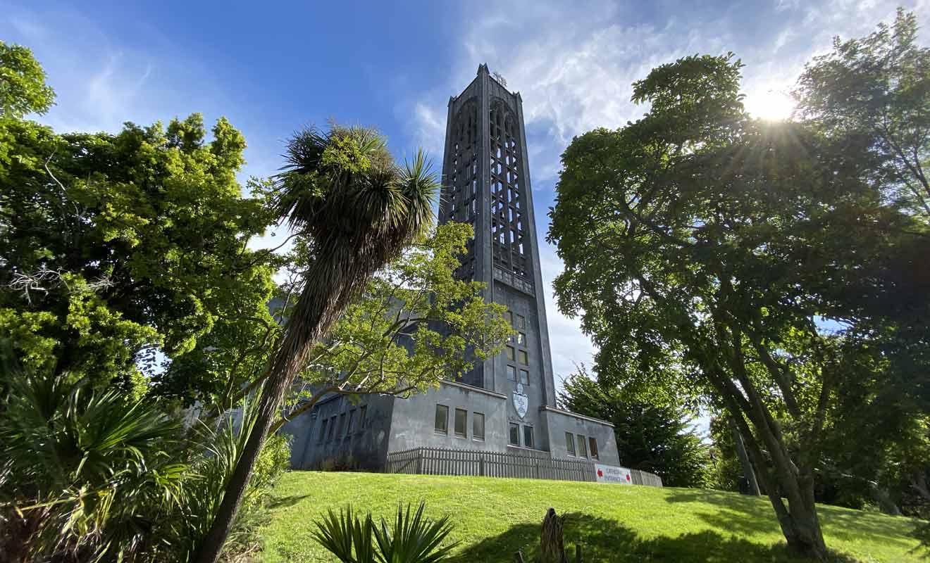 La cathédrale anglicane de Nelson a été consacrée dans les années 60.