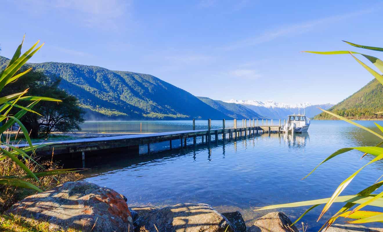 Si la ville et le parc national partagent le même nom, ils sont distants de presque 100 kilomètres, soit une heure et demie de route !