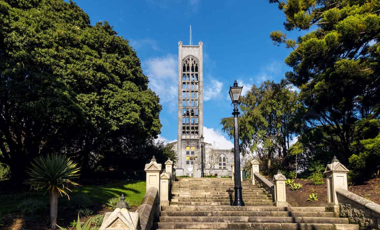 Nelson fut l'une des premières villes du pays au temps de la colonisation.