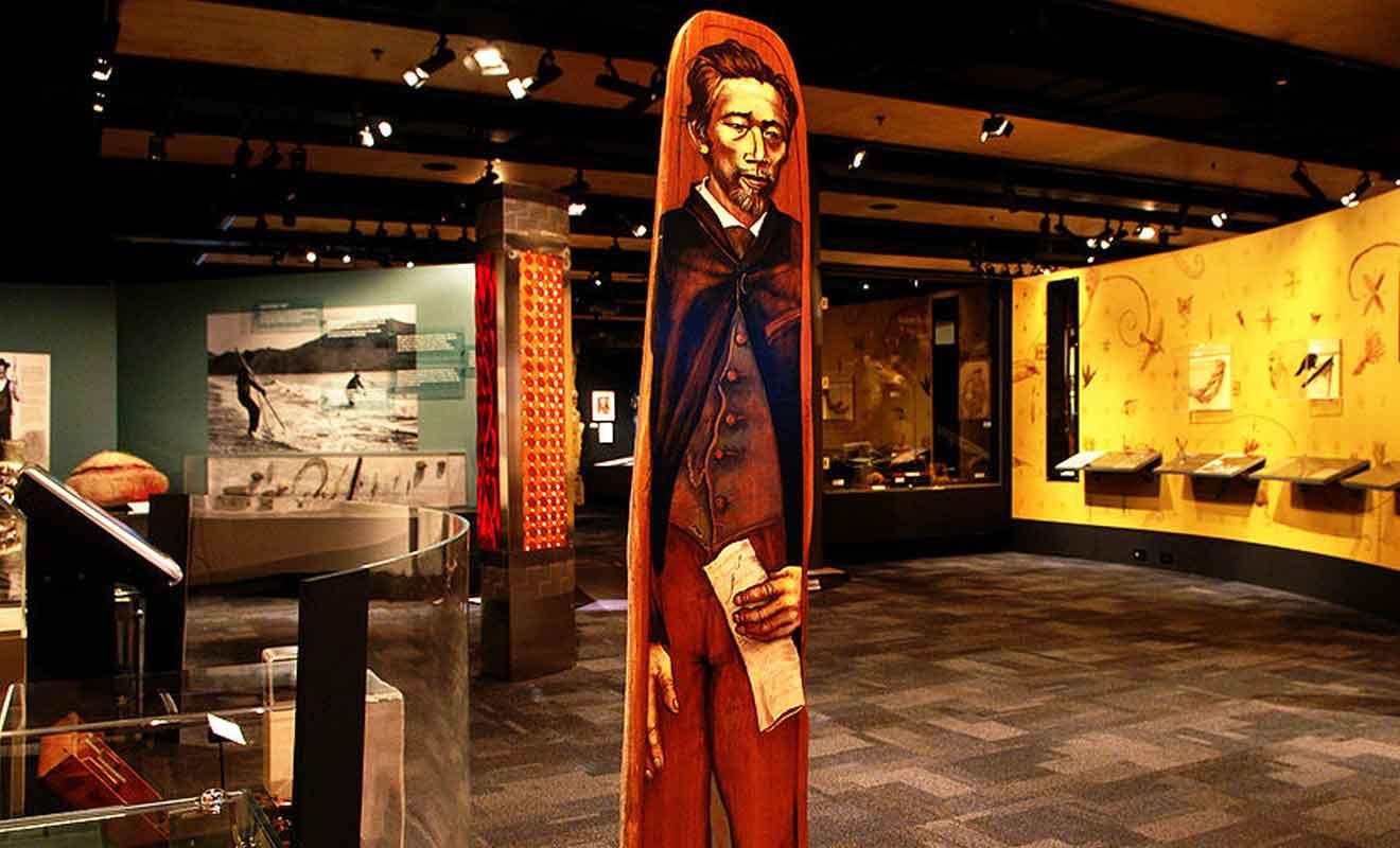 Les dimensions du musée sont modestes, mais les oeuvres sont bien mises en valeur.