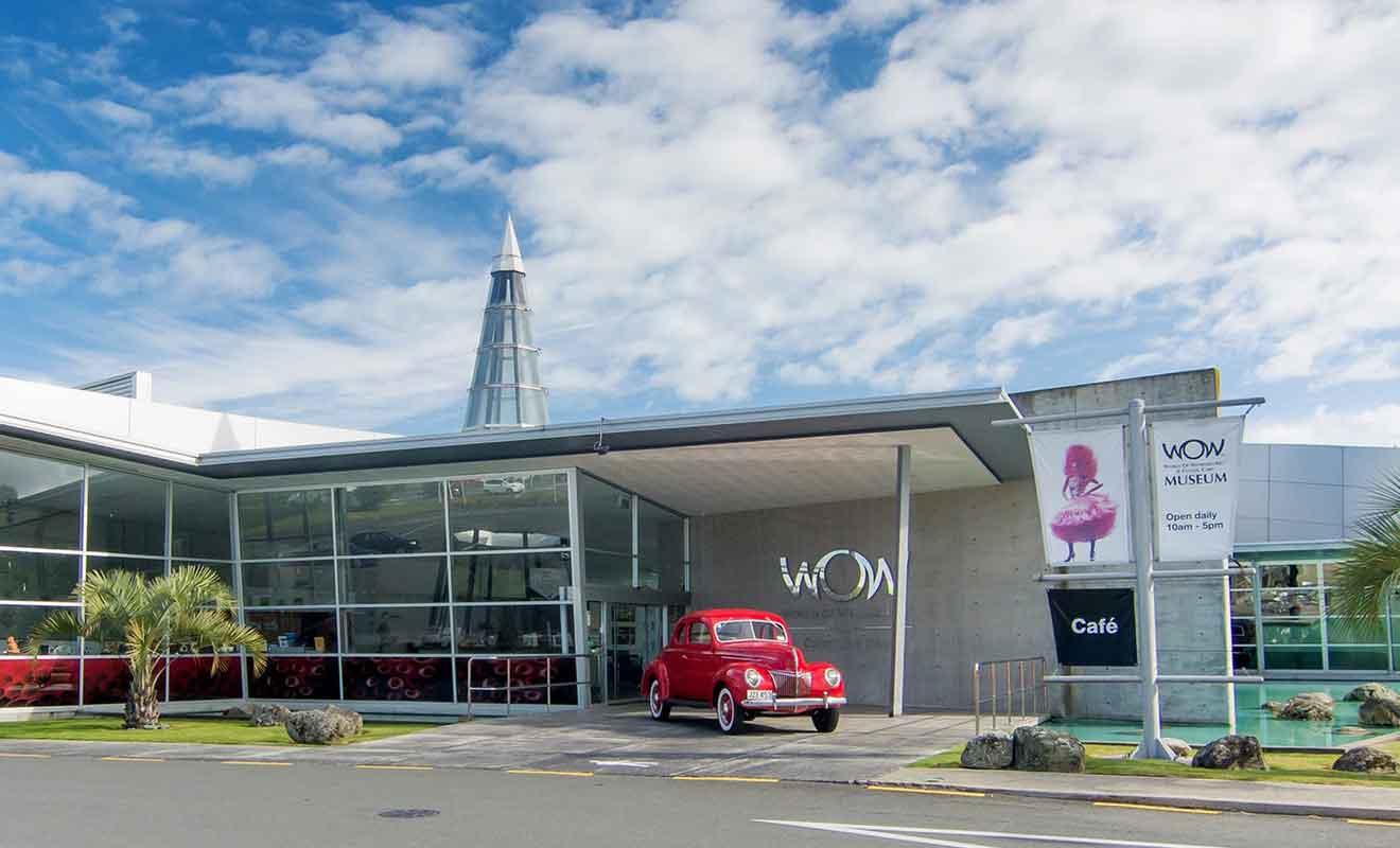 Si le festival a déménagé à Wellington, le musée en revanche est resté à Nelson.